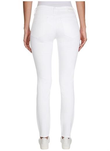 Calvin Klein Calvin Klein Denim Pantolon Beyaz